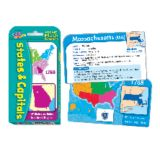 States & Capitals Pocket Flash Cards