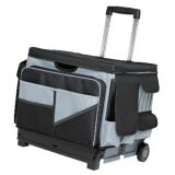 MemoryStor® Rolling Cart & Organizer Bag, Grey/Black