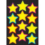 Die-Cut Magnets, Yellow Stars