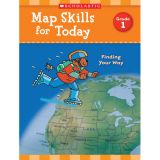 Map Skills for Today: Finding Your Way, Grade 1