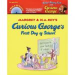 Carry Along Book & CD, Curious George's® First Day of School