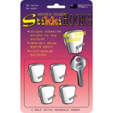 StikkiHOOKS, Pack of 4