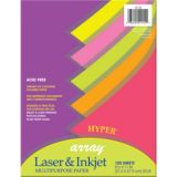 Pacon® Multipurpose Paper, Hyper Colors, 20 lb., 100 Sheets