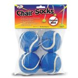 Chair Socks, Blue, Pack of 4