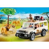 SAFARI TRUCK WITH LIONS