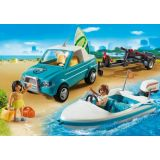 SURFER PICKUP WITH SPEEDBOAT