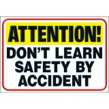 ATTENTION! Don't learn SAFETY.