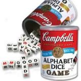 Campbell's Soup Alphabet Game