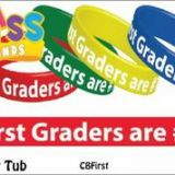 First Graders are #1! Class Bands