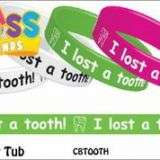 I lost a tooth!  Class Bands