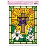 Easter Stained Window Clings