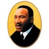 Martin Luther King Cutout 25