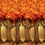 Fall Trees Wall Mural