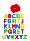 Jumbo See Through Alphabet Set