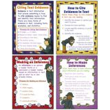 Citing Evidence & Making Inferences Teaching Poster Set
