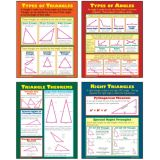 Angles & Triangles Teaching Poster Set