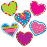 Poppin' Patterns Happy Hearts 1 Designer Cut-Outs