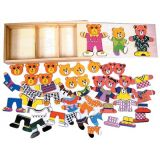 3 Bears Wood Puzzle & Case