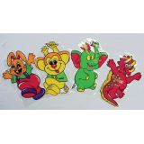 Puppet & Snack Bags, Set of 8