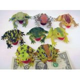 3 Frogs & Toads, 8 per bag