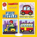 A Set of 3 First Puzzles: Transportation