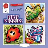 A Set of 3 First Puzzles: Insects