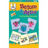 Before & After, 12 self-correcting 3-piece puzzles