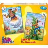 Jack & The Beanstalk and Aladdin 2 in 1 Puzzle