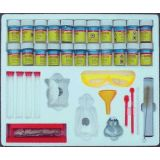 Chemistry Lab Kit, 9 chemicals and equipment