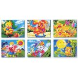 6 in 1 Cube Puzzles, Animal Days of Summer