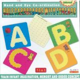 5 in 1 Hole Cardboards with Threads, A,B,C,D & 10x10