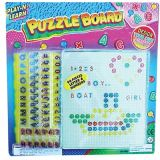 Play-N-Learn Puzzle Board, Alphabet & Numbers