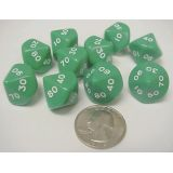 00-90 Place Value Dice, 10 each