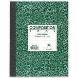 Composition Book, 7 7/8 x 10, 5 sq/in 80 count