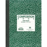 Composition Book, 7 7/8 x 10, Wide ruled