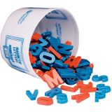 Magnetic Plastic Letters, Bucket of 108 Uppercase Letters