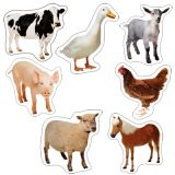 Farm Photographic, Realistic Shape Stickers