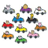 Colorful Cut-Outs, Critters 'n Cars