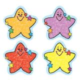 Colorful Cut-Outs, Stars: Kid Drawn