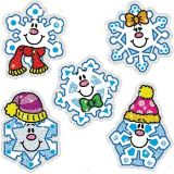Dazzle™ Stickers Super Pack, Snowflakes