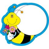 Bees Colorful Cut-Outs