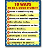 10 Ways to be a Good Student Chartlet