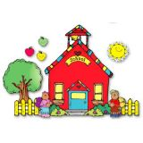 Schoolhouse Bulletin Board Set