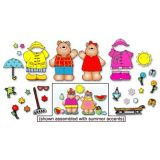 Mr. and Mrs. Weather Bear Bulletin Board Set