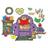 Cozy Reading Center Bulletin Board Set