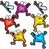 Colorful Froggies Bulletin Board Set