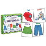 Photographic Learning Fun Lacing Cards, Kids Clothes