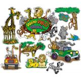 We're WILD About... Bulletin Board Set