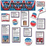 The Presidential Election Process Mini Bulletin Board Set