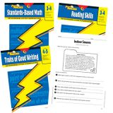 Power Practice™ Intermediate Basic Skills Variety Pack, Pack A, Grades 3-5